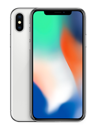 Picture of Apple iPhone X 64GB Silver (MQAD2B)
