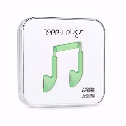 Picture of Trade Happy Plugs Earbud Wired Earphones in Mint