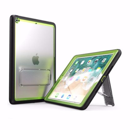 Picture of i-Blason i-Blason Ares Clear Case with Screen Protector for Apple iPad 9.7 (2017) in Green