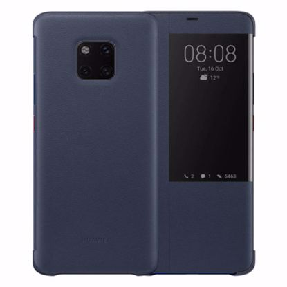 Picture of Huawei Huawei Smart View Flip Case for the Huawei Mate 20 Pro in Deep Blue