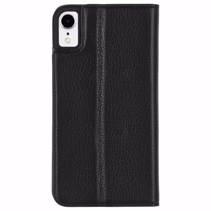 Picture of Case-Mate Case-Mate Wallet Folio Case for Apple iPhone XR in Black