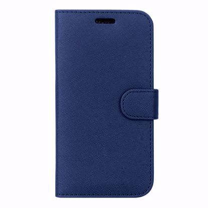 Picture of Case FortyFour Case FortyFour No.11 Case for Apple iPhone XS Max in Cross Grain Dark Blue