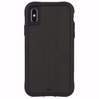 Picture of Case-Mate Case-Mate Carbon Fibre Case for Apple iPhone XS Max in Black