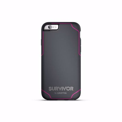 Picture of Griffin Griffin Survivor Journey Case for Apple iPhone 6/6s in Grey/Pink
