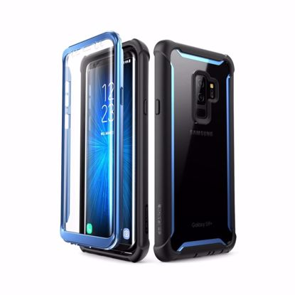 Picture of i-Blason i-Blason Ares Full Body Case for Samsung Galaxy S9+ in Black/Blue