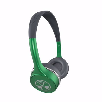 Picture of iFrogz iFrogz Toxix Plus On-Ear Headphones with Mic in Green