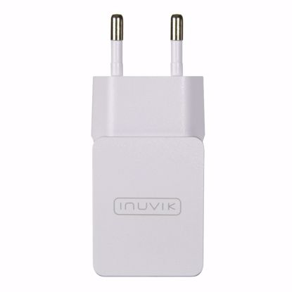 Picture of Inuvik Inuvik 2.1A EU 2 Pin USB Mains Charger in White (No Cable)