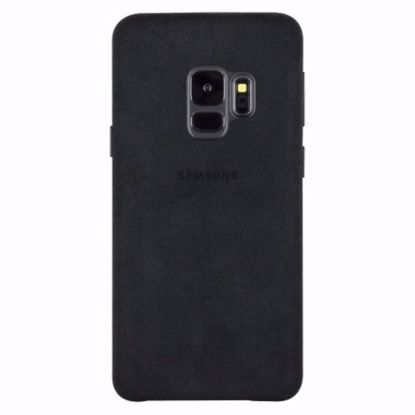 Picture of Samsung Samsung Alcantara Case for Samsung Galaxy S9 in Black