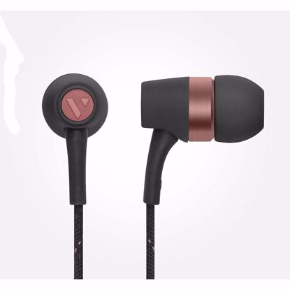 Picture of Vain VAIN STHLM Originals In-Ear Earphones with Mic and Remote in Hazy Black