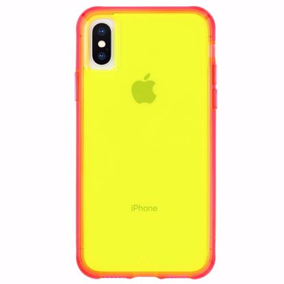 Picture of Case-Mate Case-Mate Tough Neon Case for Apple iPhone XS/X in Green/Pink