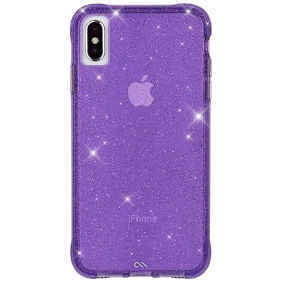 Picture of Case-Mate Case-Mate Sheer Crystal Case for Apple iPhone XS/X in Purple