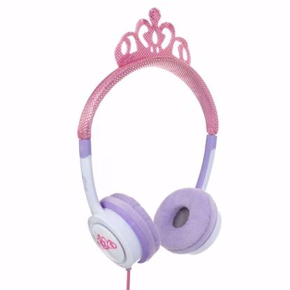Picture of iFrogz iFrogz Little Rockers Costume Kids On-Ear Headphones in Pink Tiara
