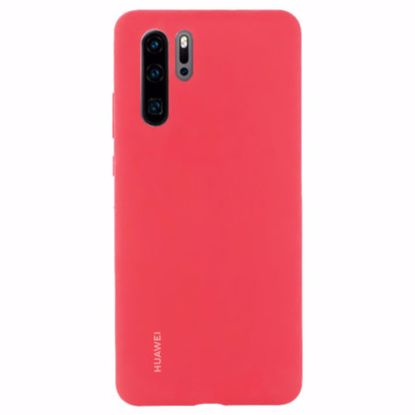 Picture of Huawei Huawei Silicone Protective Cover Case for Huawei P30 Pro in Red