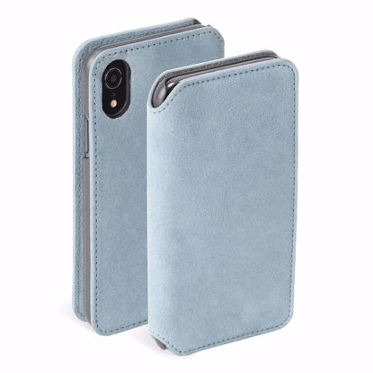 Picture of Krusell Krusell Broby 4 Card Slim Wallet for Apple iPhone XR in Blue
