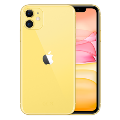 Picture of Apple iPhone 11 64GB Yellow (MWLW2B)