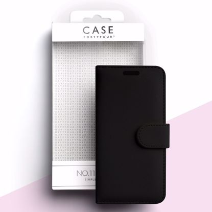 Picture of Case FortyFour Case FortyFour No.11 Case for Apple iPhone 11 Pro Max/XS Max in Cross Grain Black
