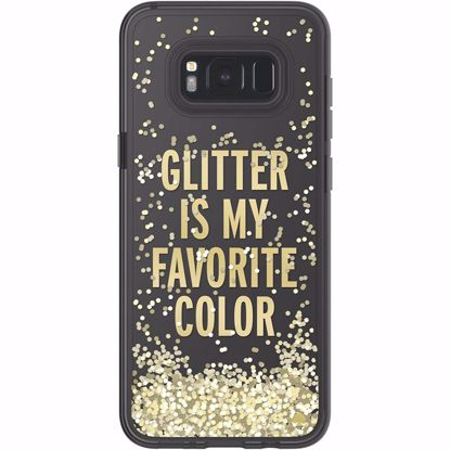 Picture of Kate Spade Kate Spade Glitter Case for Samsung Galaxy S8+ in Clear/Gold