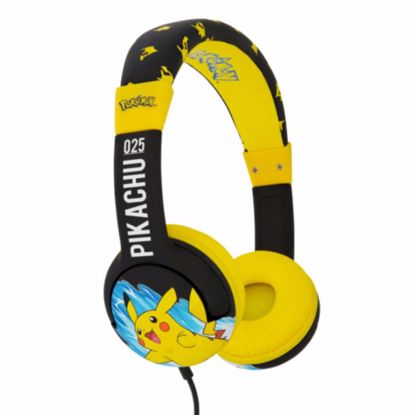Picture of OTL OTL Pokemon Junior Headphones in Electric Pikachu