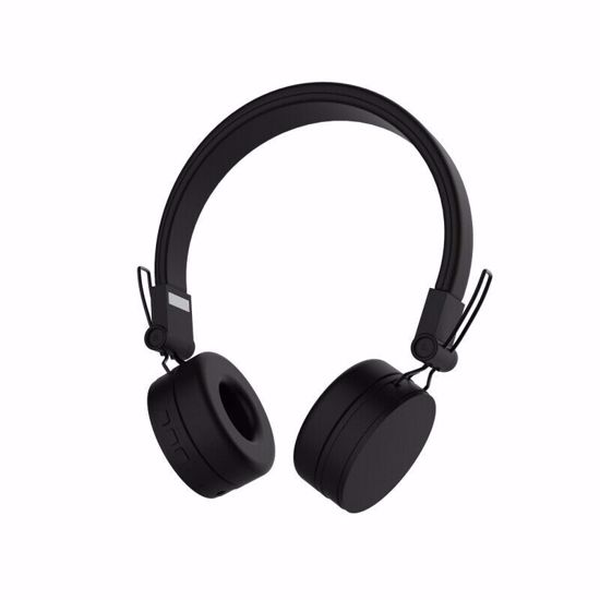 Picture of Defunc DeFunc GO Wireless Bluetooth On-Ear Headphones in Black