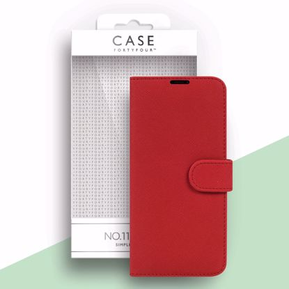 Picture of Case FortyFour Case FortyFour No.11 Case for Samsung Galaxy S21 Ultra in Cross Grain Red