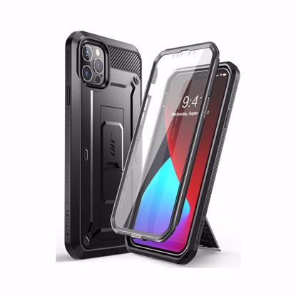 Picture of i-Blason i-Blason Supcase UB Pro with Screen Protector for Apple iPhone 12 Pro Max in Black