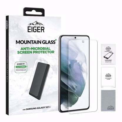 Picture of Eiger Eiger Mountain+ Glass Screen Protector for Samsung Galaxy S21+
